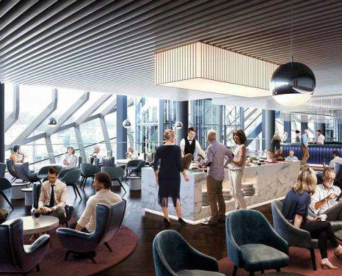 VIP hospitality lounges at Spurs new Stadium - Corporate tickets and travel