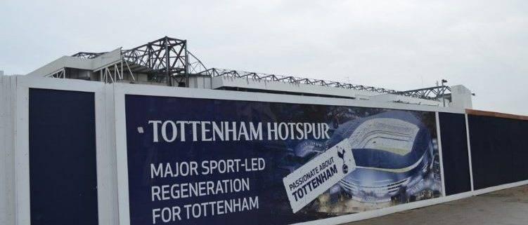 Spurs new stadium construction - New luxury seats at the Spurs stadium