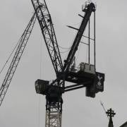 Crane at New Spurs Stadium