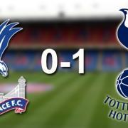 Crystal Palace 0-1 Spurs - Match Report